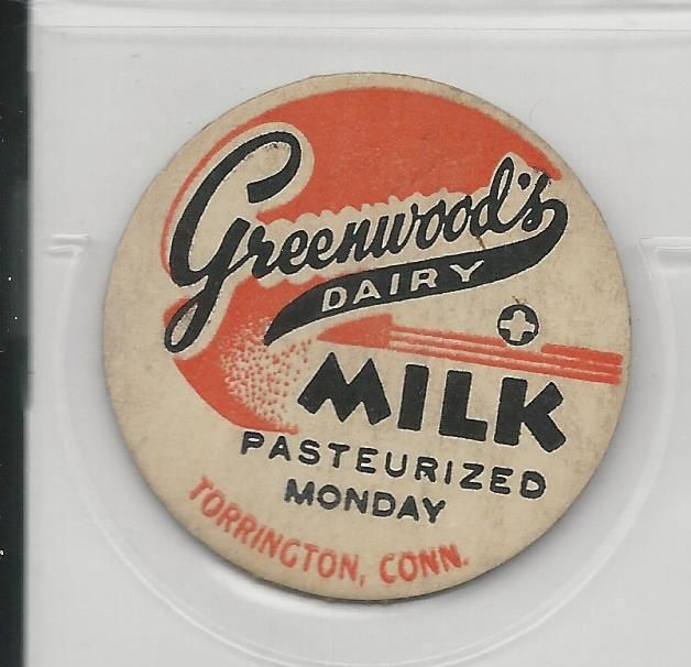 Greenwood's Dairy Milk Cap TORRINGTON Connecticut | eBay