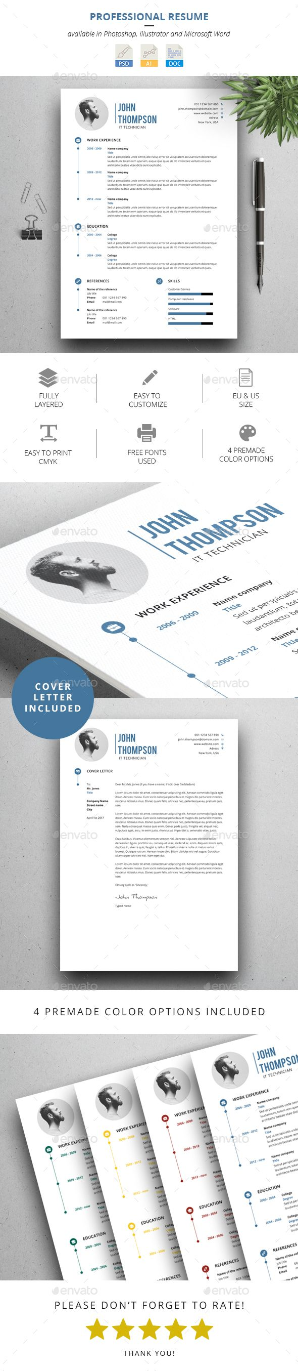 17 best ideas about cover letter template cover clean professional resume cover letter