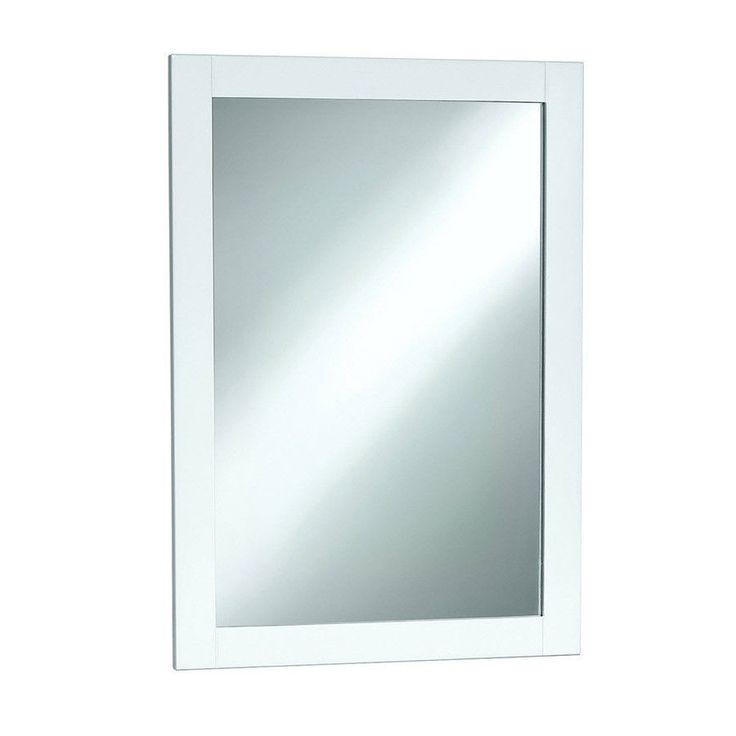 White Framed Wall Mirror 12 best white mirrors images on pinterest | wall mirrors, bathroom