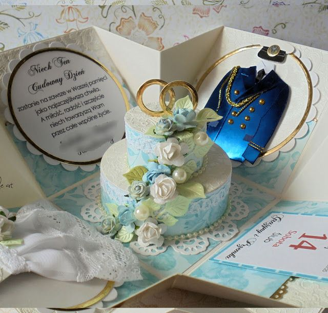 belle art, exploding box, wedding, marine