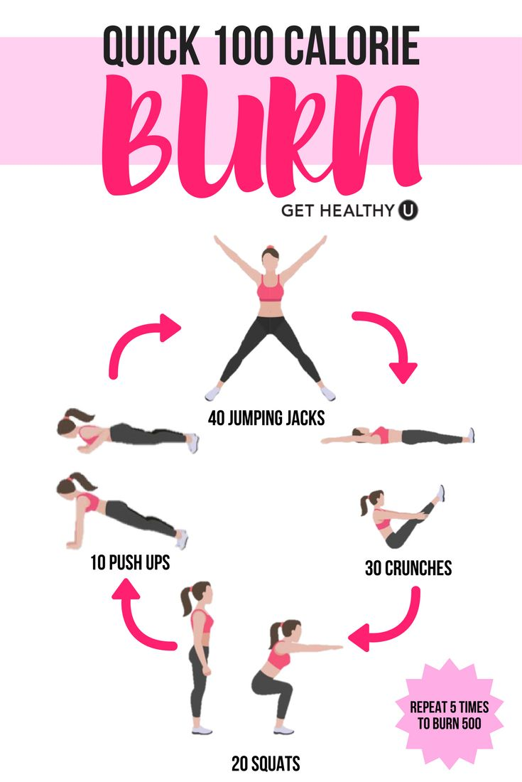 Click here to try out our QUICK 100-calorie burning work out! We all struggle to find time for exercise from time to time, but not anymore!