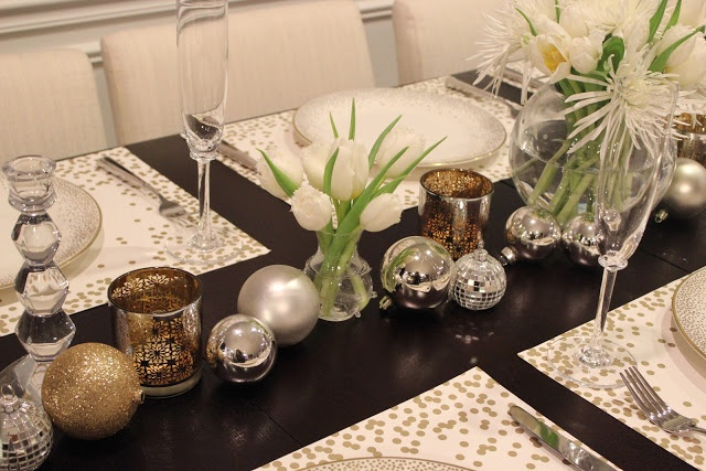 Table decorating, Things That Sparkle: NYE: Decor