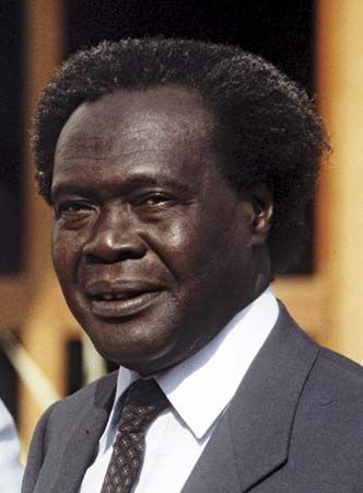 Milton Obote, pan-Africanist