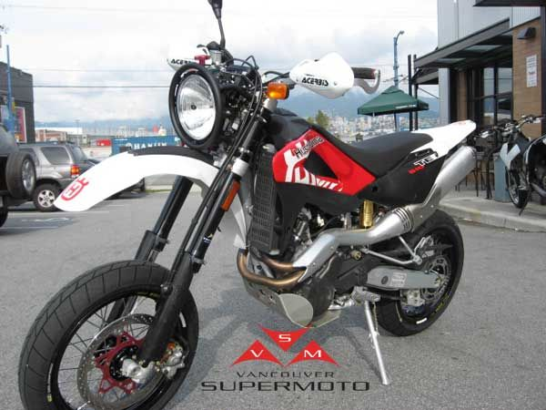 vancouver supermoto 2008 husqvarna te610 supermoto. Black Bedroom Furniture Sets. Home Design Ideas