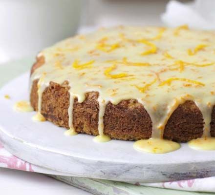 Carrot, courgette & orange cake - made this a few times and it's totally delicious
