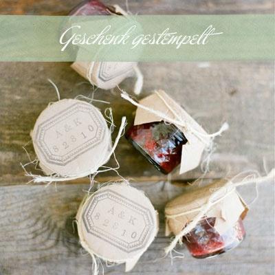 marmelade - persönlich verpackt