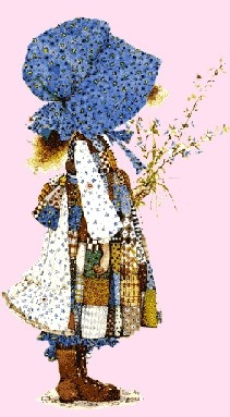 Cross-stiched this for my sister - Holly Hobbie!