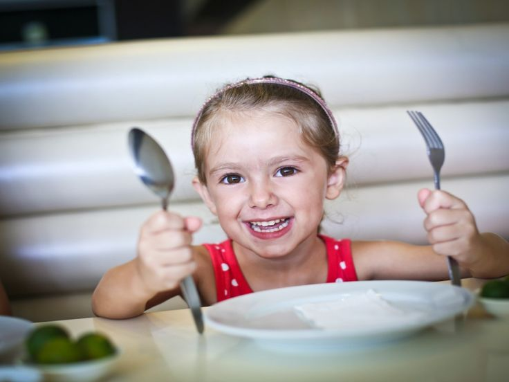 Kids using a knife and fork are better behaved- Kidspot