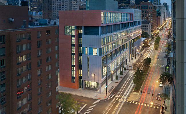 William Jones College Preparatory High School by Perkins+Will in Chicago