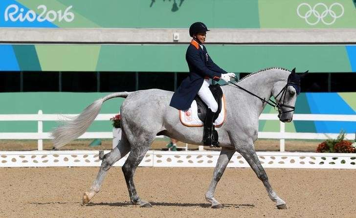 2016 Rio Olympics - Equestrian - Preliminary - Eventing Individual Dressage Day…