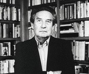 """Octavio Paz ,Mexican winner of the Nobel Prize for Literature,writer of """"Piedra de sol""""and Ël Laberinto de la Soledad."""