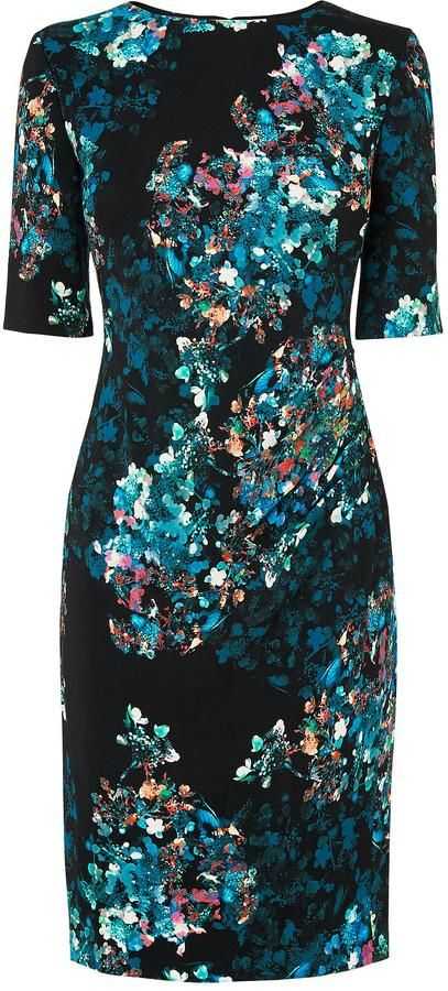 Lk bennett marli printed dress kate might wear for Lk bennett wedding dress
