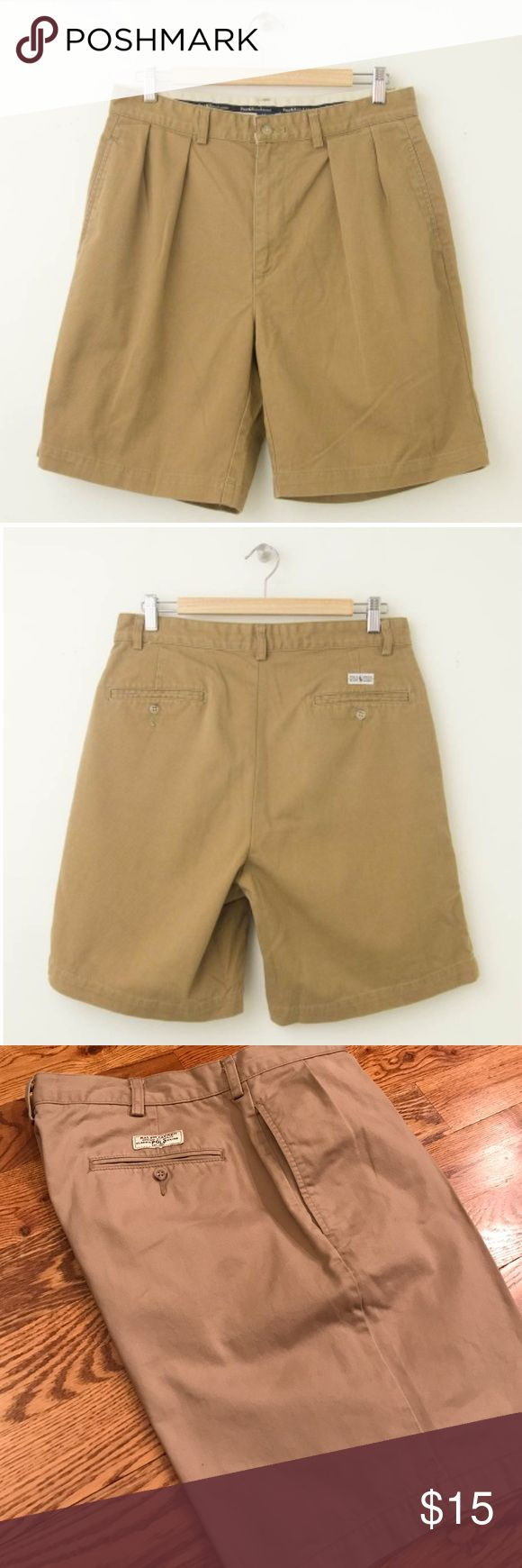 Polo by Ralph Lauren Men's Shorts Polo dress khaki shorts. In great condition, size 36. Discount available when purchased in a bundle! Polo by Ralph Lauren Shorts Flat Front