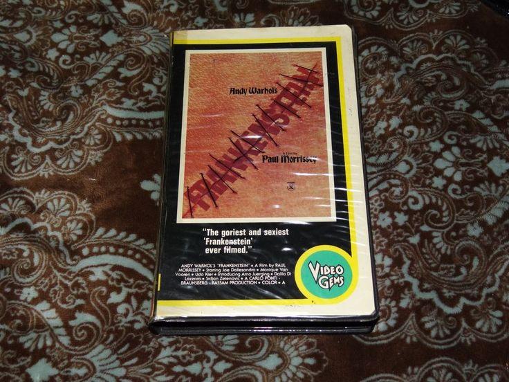 Andy Warhol's (Flesh for) Frankenstein (VHS, 1980s) Video Gems Horror Clamshell