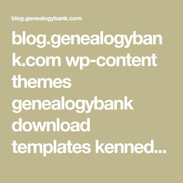 blog.genealogybank.com wp-content themes genealogybank download templates kennedy-family-tree-chart-template-example.pptx