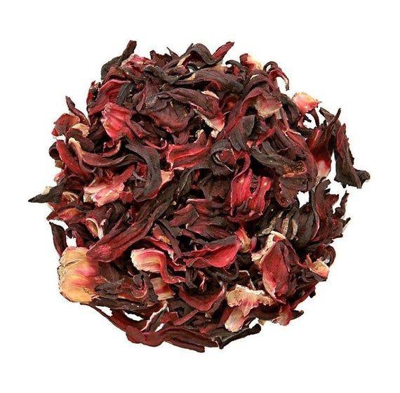 Hibiscus Tea Hibiscus Loose Leaf Tea Dried Hibiscus Flowers