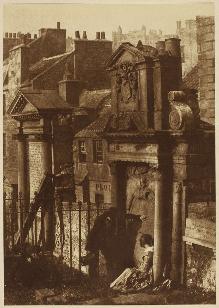 The Covenanter's Tomb, Greyfriars Churchyard, 1846  David Octavius Hill and Robert Adamson