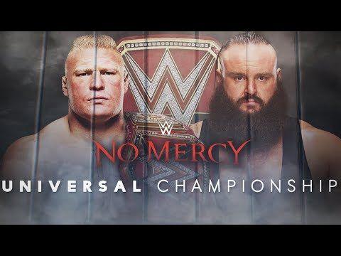Brock Lesnar vs Braun Strowman – No Mercy 2017