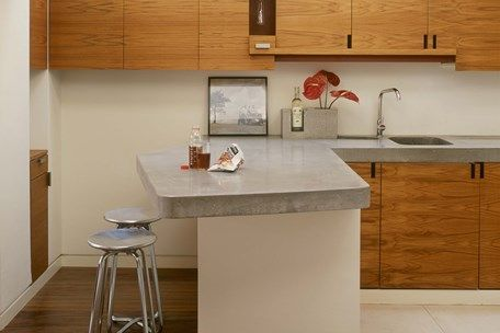 Concrete Worktops, Countertops and Polished Work Surfaces — Lowinfo