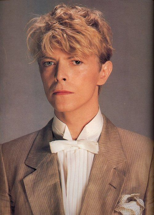 """80's BOWIE! """"I feel like a sail boat... a drift on the sea... It's a brand new day... so, when ya gonna phone me?!"""""""