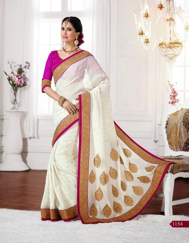 Indian Designer Traditional Sari Pakistani Bollywood Saree Party Ethnic Wedding  #KriyaCreation #SareeSari