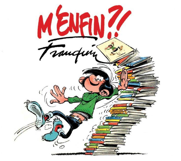 Franquin - Gaston Lagaffe - M'enfin