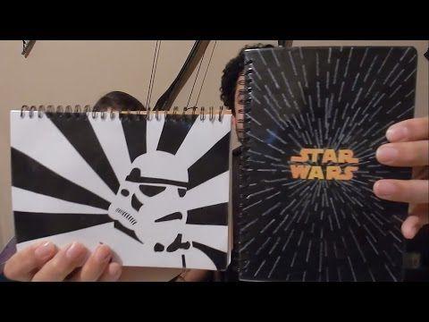 Como hacer Cuadernos de Star Wars - YouTube