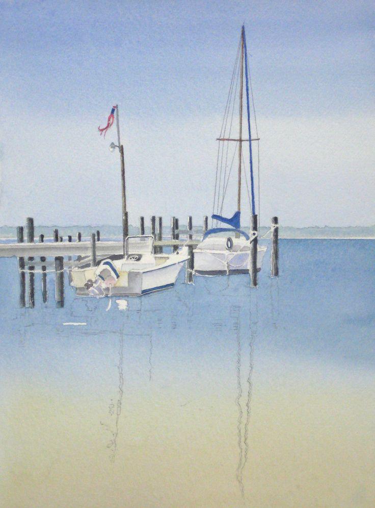 Morning Calm Watercolor Demo