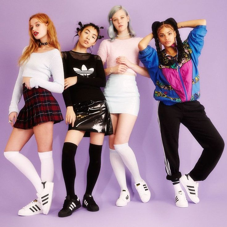 The Neo Spice Girls for Adidas