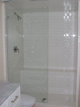 Single Frameless Shower Panel No Door Serene 2nd