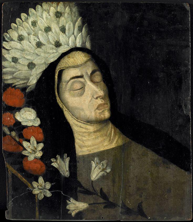 Sor Inés de la Trinidad Pastrana (Clarisa) | Colección de Arte del Banco de la República