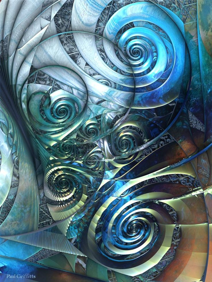 """Seance"" 3d fractal art Mandelbulb 3d Paul Griffitts http://www.frackxion.com"