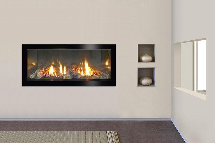 XLR-PLUS WITH TONIC Ebony TRIM AND LOG KIT.   #Jetmaster #Fireplace #Design