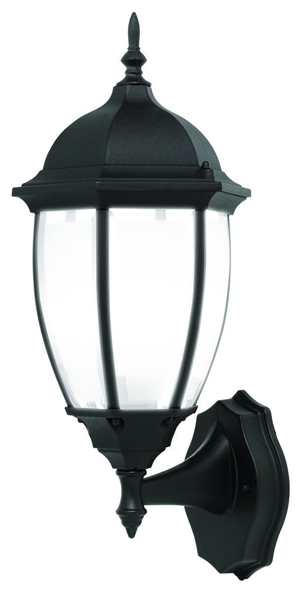 Astragal Traditional Coach Wall Light in Black