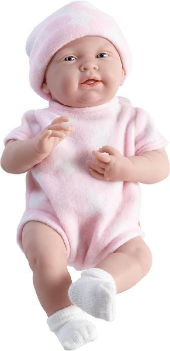 Realistické miminko - holčička Majda v růžovém oblečku od firmy Berenguer
