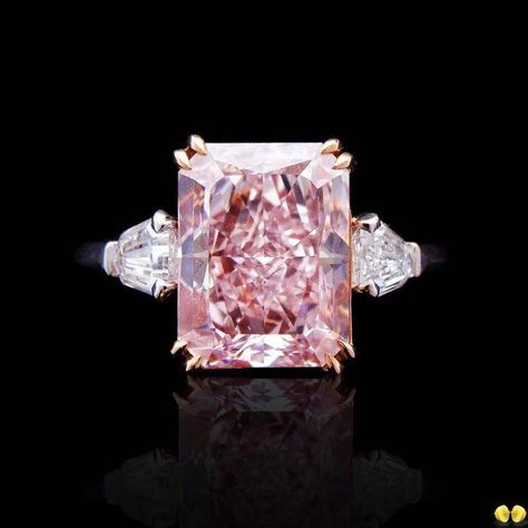 Fancy Pink Diamond Ring by Novel Collection