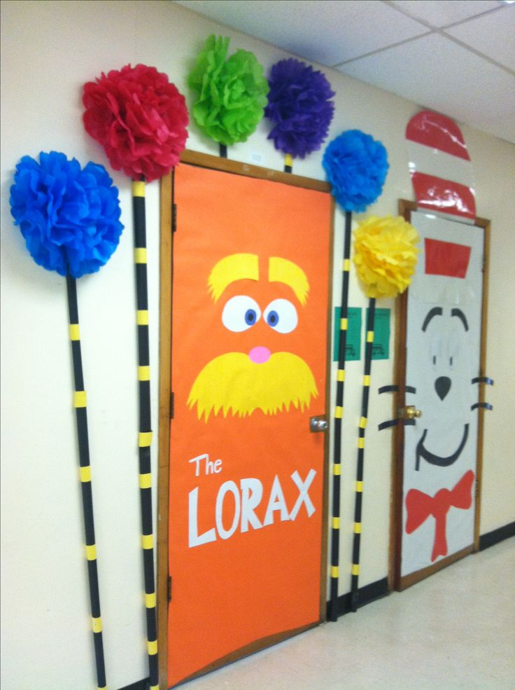 Classroom Decoration Ideas Questions ~ Best images about dr seuss door decorations on