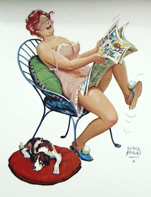 Hilda enjoys some comics