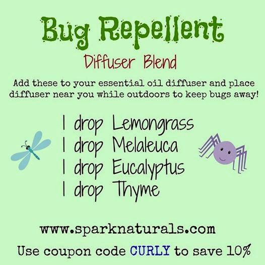 Curly loves essential oils all natural bug spray with essential oils