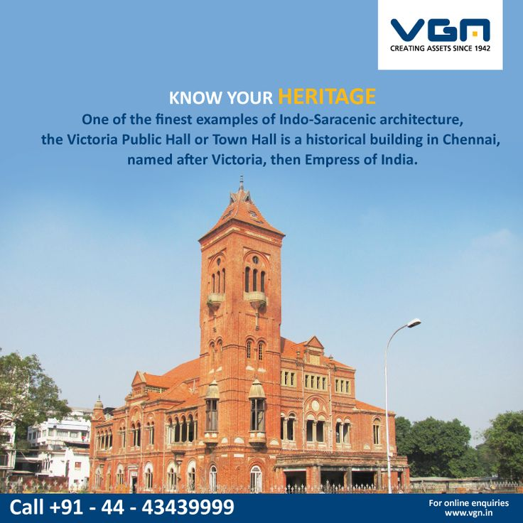 The Victoriapublichall Is A Beautiful Building From The British Era Which Showcases The Indo