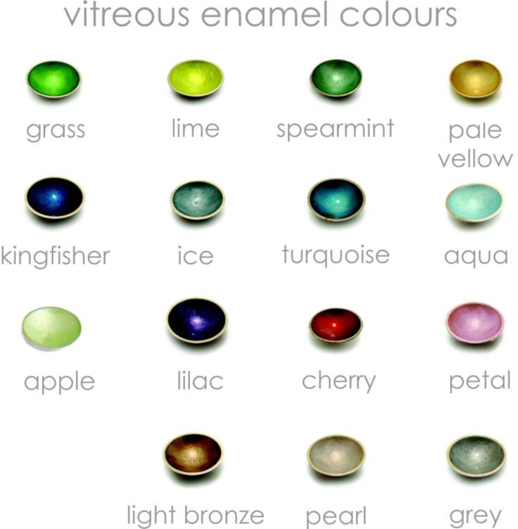 enamel colour chart - Kokkino