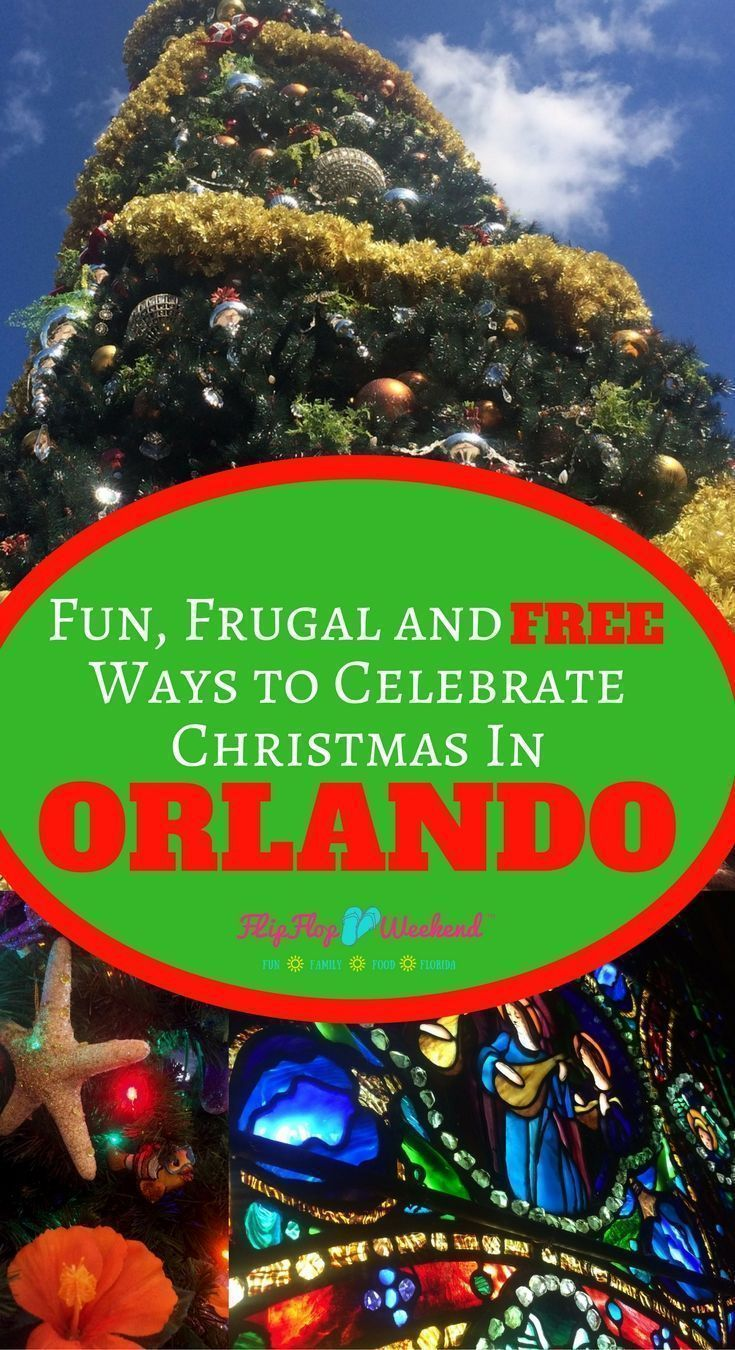 There are plenty of fun, free and cheap holiday activities to during Christmas in Orlando. This post outlines some of my favorite ways to build Florida Christmas traditions without breaking the bank! #Florida #orlando #christmas