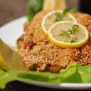 Image for Sesampanerad torsk med wokade grönsaker och citron