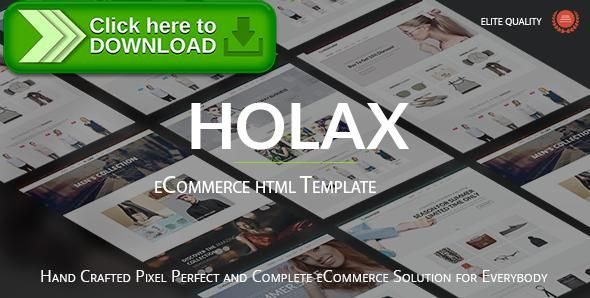 [ThemeForest]Free nulled download Holax - Multipurpose HTML eCommerce Template from http://zippyfile.download/f.php?id=15202 Tags: bag store, bootstrap, camera store, clothes, digital, ecommerce template, Electronic store, electronics, fashion store, html shop template, Jewelries, online store, shoes, shop