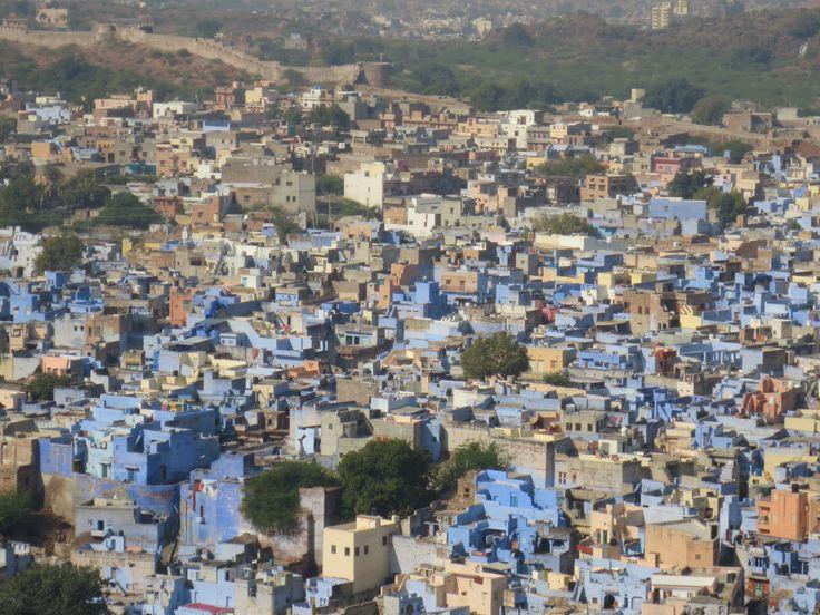 """Jodhpur, la """"ville bleue"""""""