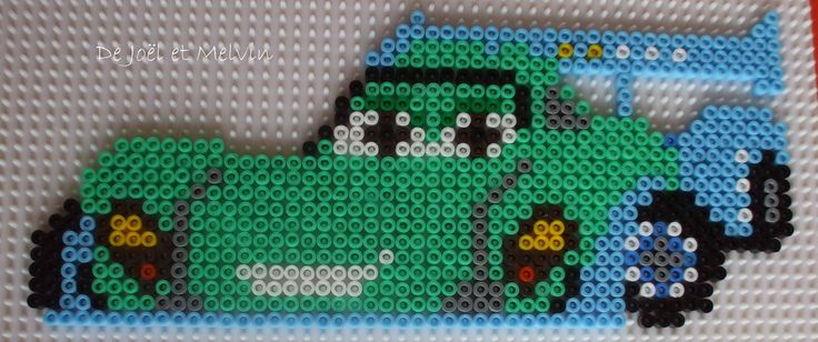 Carla Veloso - Cars 2 hama perler beads by pat2811