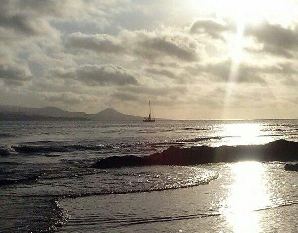 Bahía del Confital. Gran Canaria.