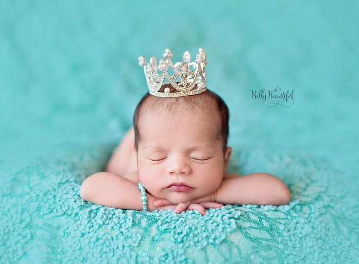 Diana Crown • Rhinestone Princess Crown • Newborn Crown | Ready To Ship