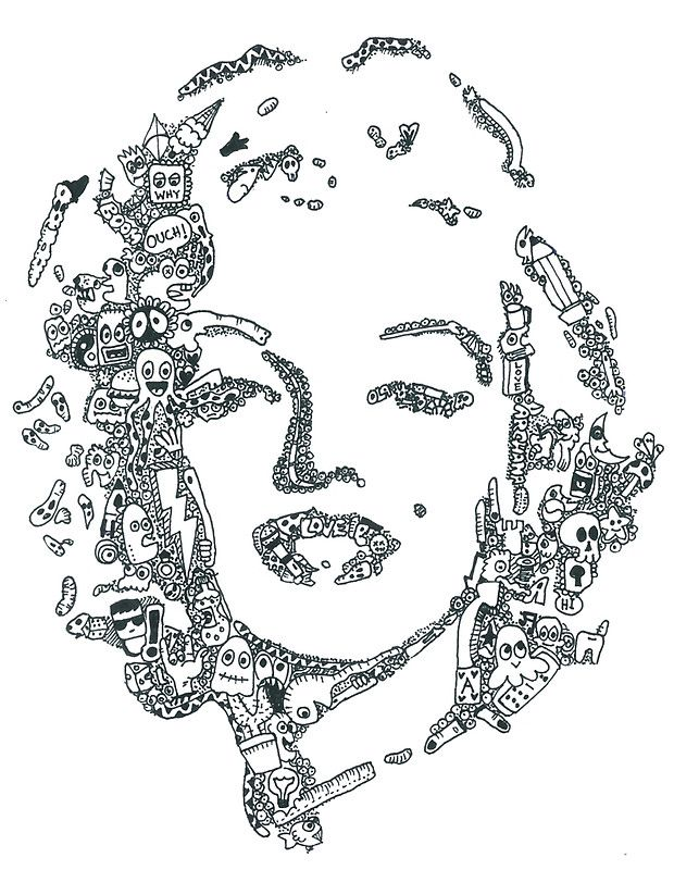 'Marilyn Monroe' Art Print by Rajarshi Goswami | Art ...