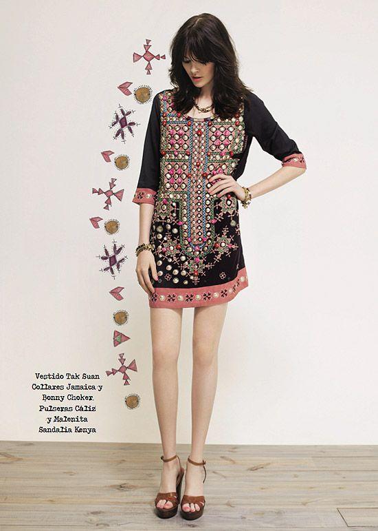 123 best colombia esta a la moda images on pinterest - Moda boho chic ...